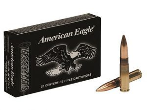 ammunition, federal american eagle, federal premium ammunition, federal american eagle suppressor