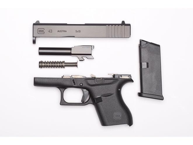 glock, glock 43, GLOCK 43 9mm, glock pistol, glock pistols, glock handgun, glock handguns, glock 9mm, glock g43, glock 43 gun, glock 43 disassembled