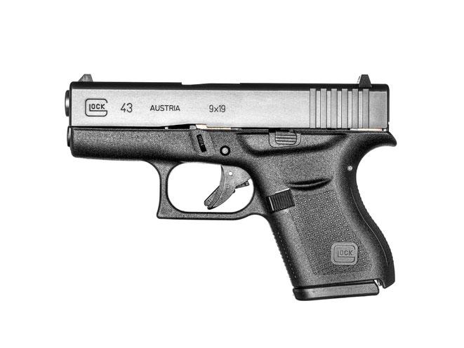 glock, glock 43, GLOCK 43 9mm, glock pistol, glock pistols, glock handgun, glock handguns, glock 9mm, glock g43, glock 43 gun, glock 43 photo