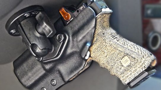 dara holster, dara holsters, mounted holster system, dara holsters mounted holster system, RMR Cut RAM Mounted Holster