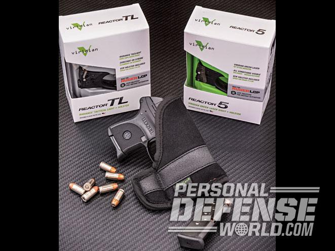 Ruger LCP with Viridian's Green Laser & Light