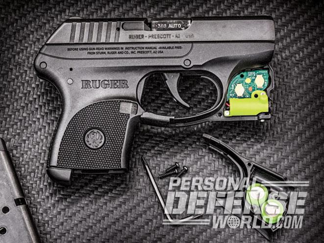 ruger lcp, viridian green laser, viridian, ruger, viridian reactor 5 green laser, viridian reactor TL tactical light, reactor 5 battery