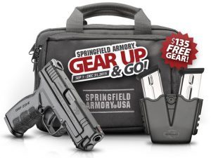 springfield, springfield armory, gear up and go, gear up & go, springfield gear up and go, springfield gear up & go
