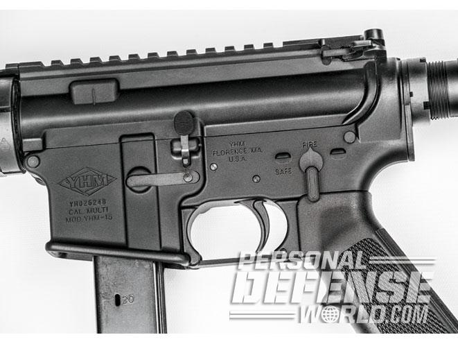 Gun Review: Yankee Hill Machine's YHM-8020 9mm AR Pistol