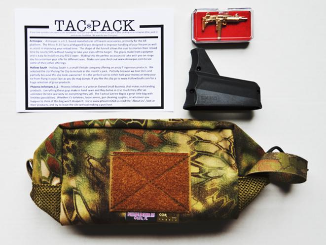 TacPack, TacPack april