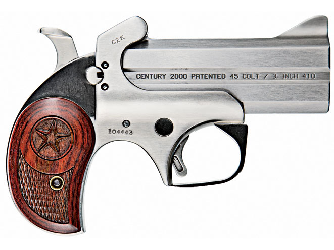derringer, derringers, mini-revolver, mini-revolvers, revolver, revolvers, concealed carry derringer, concealed carry derringers, concealed carry revolver, concealed carry revolvers, BOND ARMS CENTURY 2000