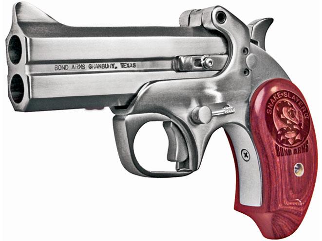 derringer, derringers, mini-revolver, mini-revolvers, revolver, revolvers, concealed carry derringer, concealed carry derringers, concealed carry revolver, concealed carry revolvers, BOND ARMS snake slayer
