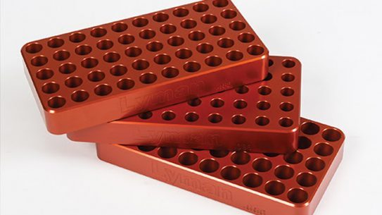 Deluxe Anodized Aluminum Loading Blocks, lyman, lyman Deluxe Anodized Aluminum Loading Blocks