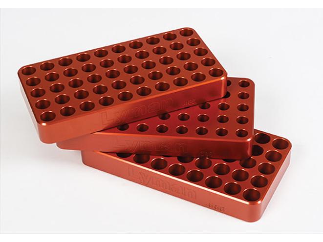 Deluxe Anodized Aluminum Loading Blocks, lyman, lyman Deluxe Anodized Aluminum Loading Blocks