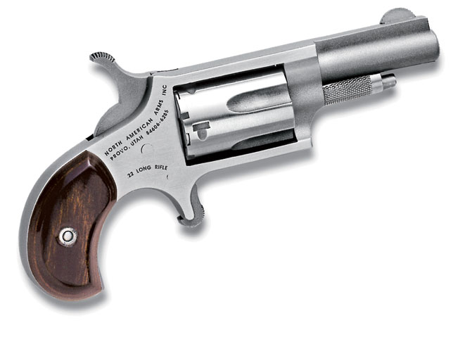 derringer, derringers, mini-revolver, mini-revolvers, revolver, revolvers, concealed carry derringer, concealed carry derringers, concealed carry revolver, concealed carry revolvers, NAA .22 LR