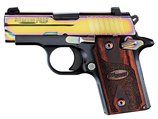 sig, sig sauer, sig sauer pistol, Sig Sauer P238 Rainbow