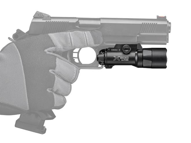 SureFire X300U-B, surefire, surefire x300, x300 pistol light