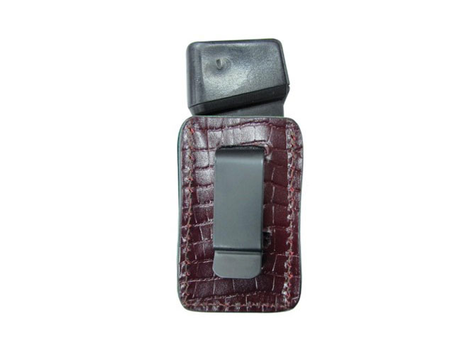 tagua, tagua gun leather, tagua gunleather, Premium Single Magazine Carrier, premium single magazine carrier burgundy