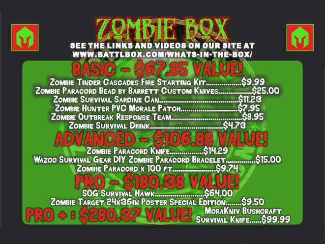 battlbox, battlbox mission 8, battlbox zombie, battlbox zombie box, battlbox zombie box mission 8