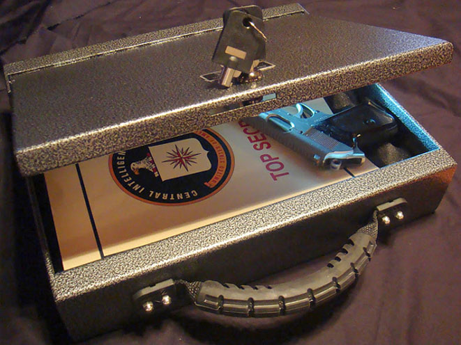 Console Vault Security Briefcase, console vault