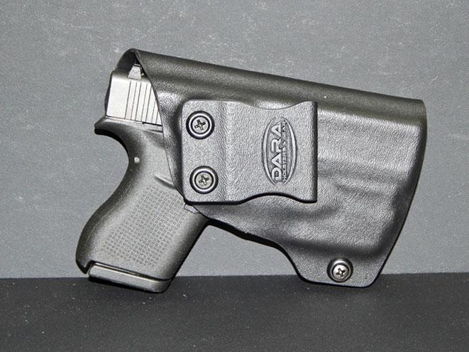 dara holsters, dara holsters glock, glock 43, glock 42, glock 43 holster, glock 42 holster, streamlight tlr-6, dara holsters glock holster