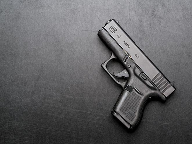 GLOCK 43, glock, glock g43, g43