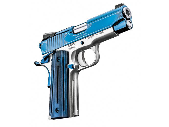 kimber, kimber pistols, kimber concealed carry, concealed carry, Kimber Sapphire Pro II