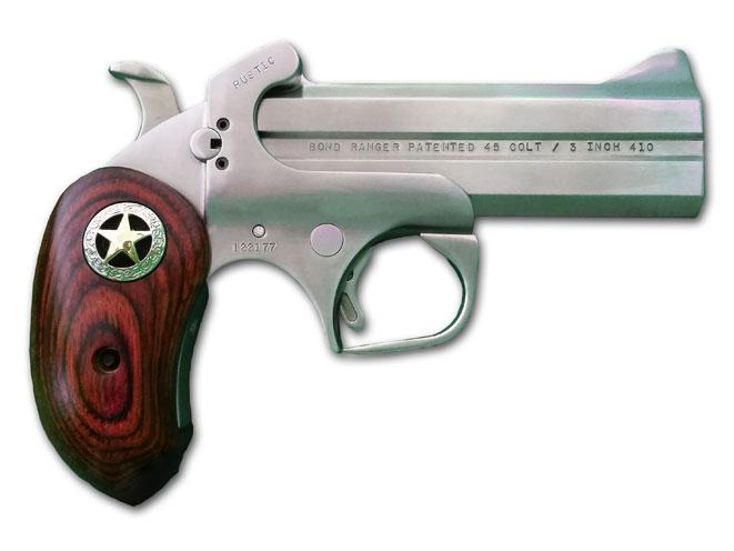 bond arms, bond arms derringer, bond arms derringers, derringer, derringers, bond arms rustic ranger