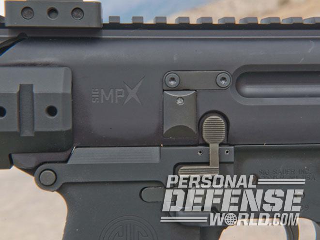 Sig Sauer MPX-P, sig sauer, MPX-P, MPX, sig sauer MPX, MPX-P controls