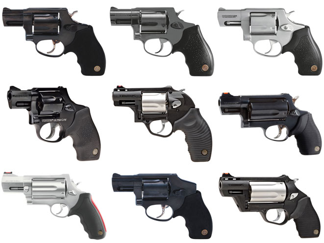 9 Deep-Cover Snub-Nose Revolvers from Taurus