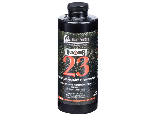 reloading powder, reloading powders, gun powder, gun powders, Alliant Reloder 23