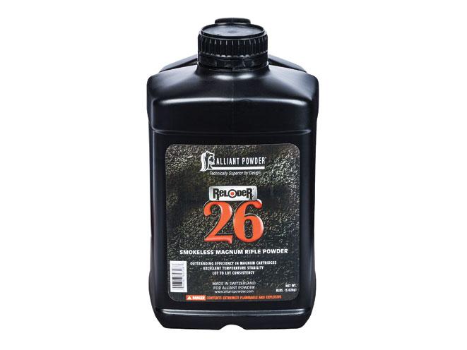 reloading powder, reloading powders, gun powder, gun powders, Alliant Reloder 26