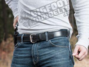 Bigfoot Gun Belts, Bigfoot Gun Belts Premium Leather Belt, gun belt, gun belts