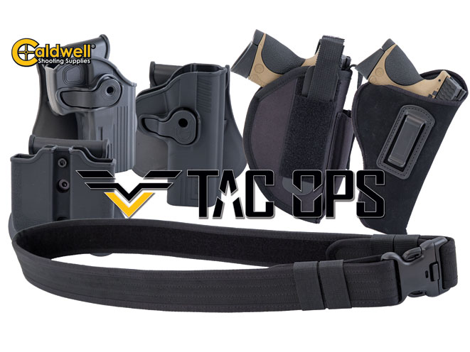holster, holsters, concealed carry, concealed carry holster, concealed carry holsters, Caldwell Tac Ops