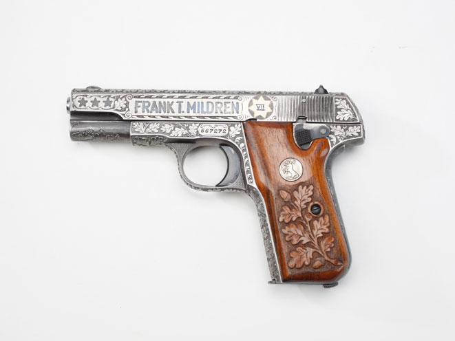 colt, colt pocket hammerless, pocket hammerless, pocket hammerless model 1903, pocket hammerless model 1908, pocket hammerless 1903, pocket hammerless 1908, colt general officer's pistol, colt general officer's pistols, colt frank mildren model 1903