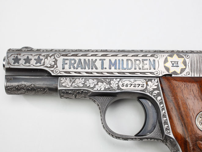colt, colt pocket hammerless, pocket hammerless, pocket hammerless model 1903, pocket hammerless model 1908, pocket hammerless 1903, pocket hammerless 1908, colt general officer's pistol, colt general officer's pistols, colt frank mildren