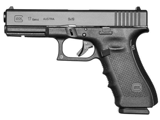 glock, glock pistol, glock pistols, glock handgun, glock handguns, glock 17 gen4 pistol