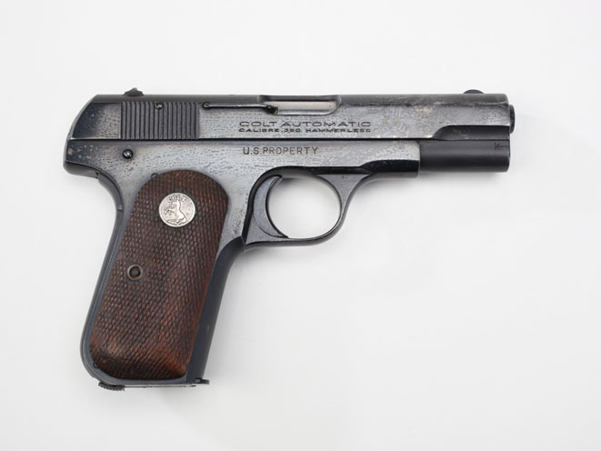 colt, colt pocket hammerless, pocket hammerless, pocket hammerless model 1903, pocket hammerless model 1908, pocket hammerless 1903, pocket hammerless 1908, colt general officer's pistol, colt general officer's pistols, colt ridgeley gaither