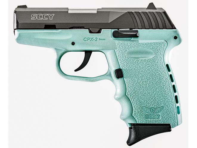 pocket pistols, pocket pistol, SCCY Blue Pistols