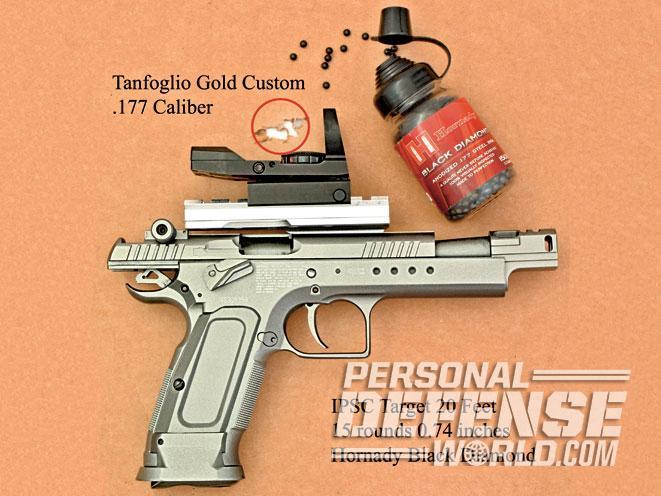 Tanfoglio Gold Custom Xtreme Air Pistol, tanfoglio, gold custom xtreme, gold custom, tanfoglio gold custom