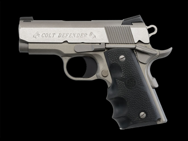 compact, compact carry, compact carry handgun, compact carry handguns, Colt Defender