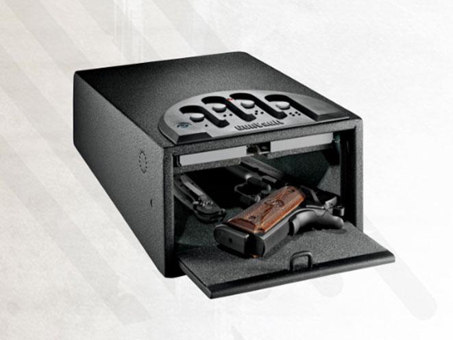 gun safe, gun safes, bedside gun safe, GunVault miniVault