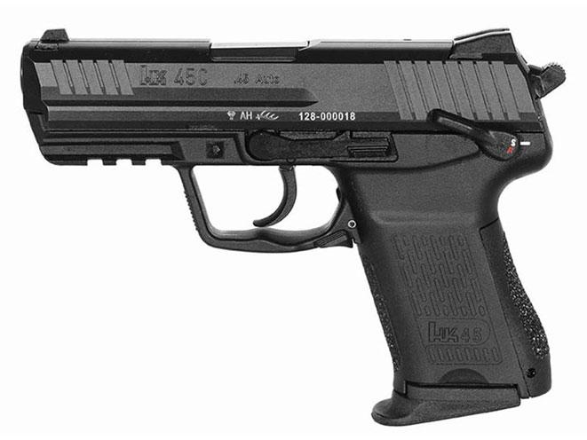 compact, compact carry, compact carry handgun, compact carry handguns, Heckler & Koch HK45 Compact