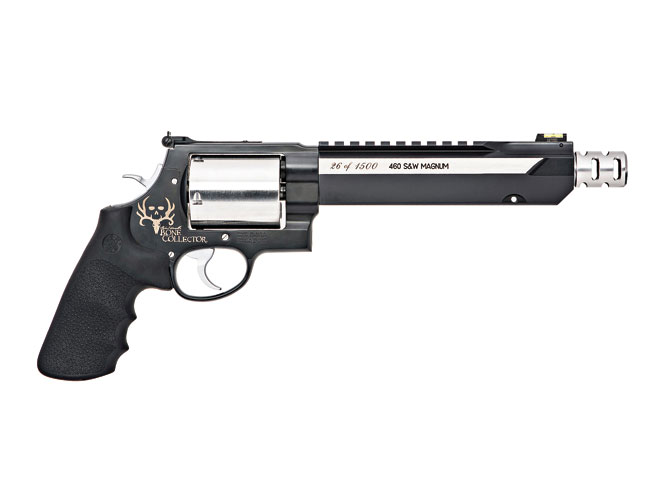 smith & wesson, smith & wesson 460xvr, 460 xvr, s&w 460xvr, S&W 460XVR bone collector