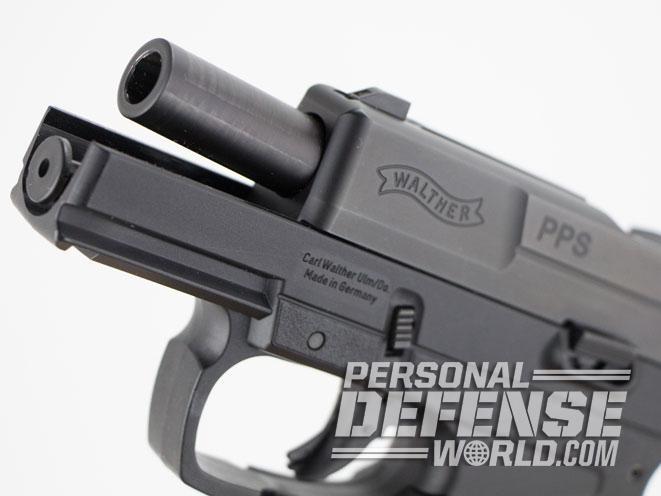 Walther PPS, walther, walther pps handgun, walther pps concealed carry, PPS, pps handgun, walther pps barrel