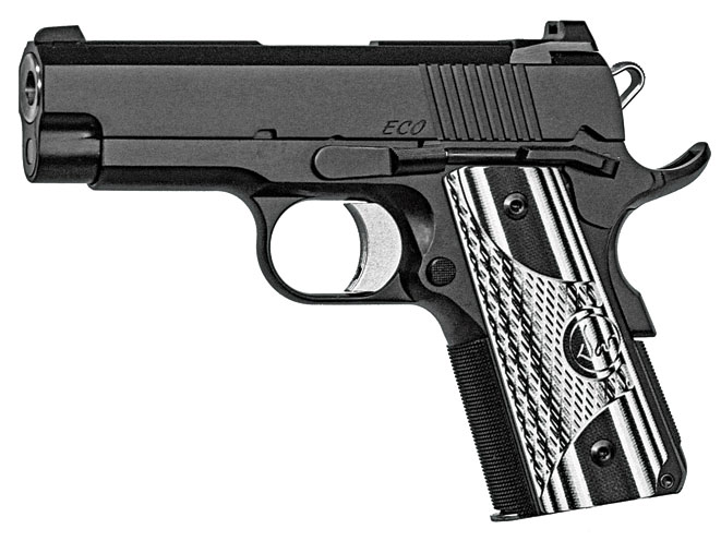 pistols, pistol, 1911 pistol, 1911 pistols, concealed carry, concealed carry pistol, concealed carry pistols, Dan Wesson ECO