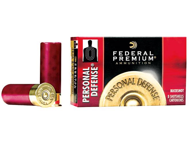 buckshot, buckshot loads, buckshot load, shotgun buckshot, Federal Premium Personal Defense