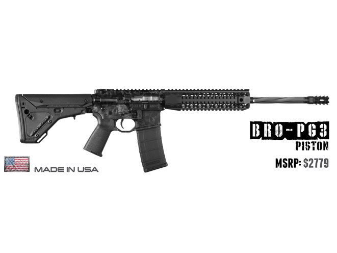 rifle, rifles, semi-auto rifle, semi-auto rifles, semi auto rifle, semi auto rifles, Black Rain Ordnance BRO-PG3 16""