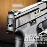 FNS-9 Longslide, FNS-9, FN, FNH USA, FNS-9 longslide pistol, FNS-9 longslide rear sight