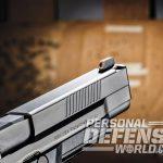 FNS-9 Longslide, FNS-9, FN, FNH USA, FNS-9 longslide pistol, FNS-9 longslide front sight