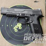 FNS-9 Longslide, FNS-9, FN, FNH USA, FNS-9 longslide pistol, FNS-9 longslide front sight, FNS-9 longslide target