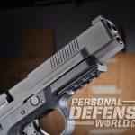 FNS-9 Longslide, FNS-9, FN, FNH USA, FNS-9 longslide pistol, FNS-9 longslide front sight, FNS-9 longslide muzzle