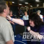 Feminine Fortress, Kellene Bishop, Kellene Bishop feminine fortress, feminine fortress self-defense, feminine fortress self defense, kellene bishop self defense, kellen bishop self-defense, feminine fortress throat grab