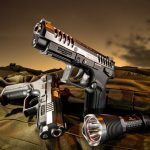 pistols, pistol, full-size pistol, full-size pistols, full-sized pistol, full-sized pistols, Grand Power K100 X-Trim MK12
