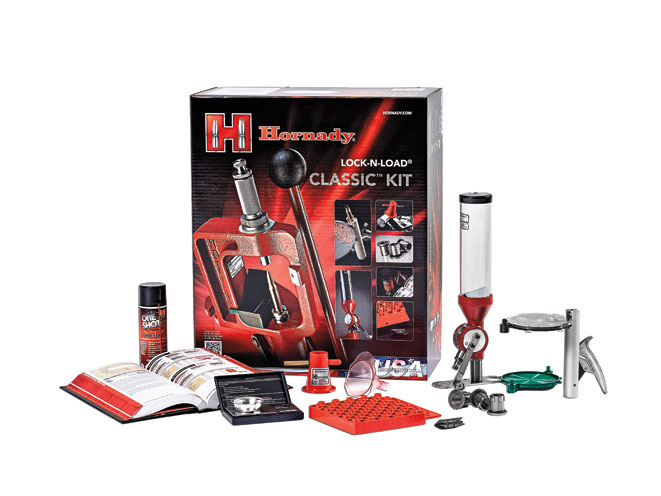 reloading, reload, ammo, ammunition, reloading accessories, reloading equipment, reloader, Hornady Lock-N-Load Classic Kit